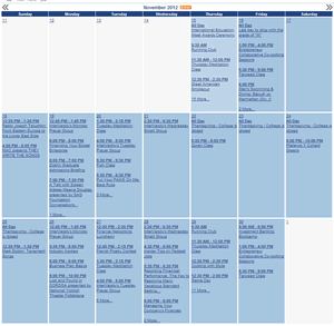 Active Data Calendar Training Guide - Baruch College ...