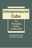 Book jacket for Entrepreneurial Cuba