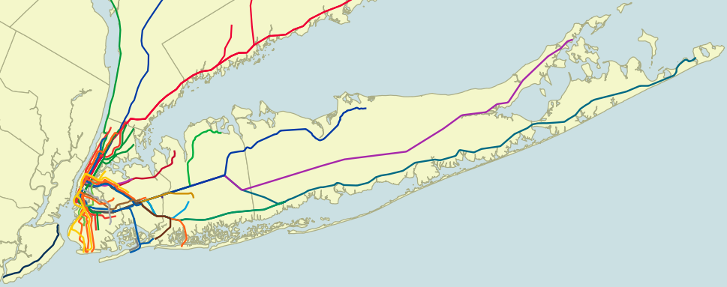 NYC Mass Transit Spatial Layers