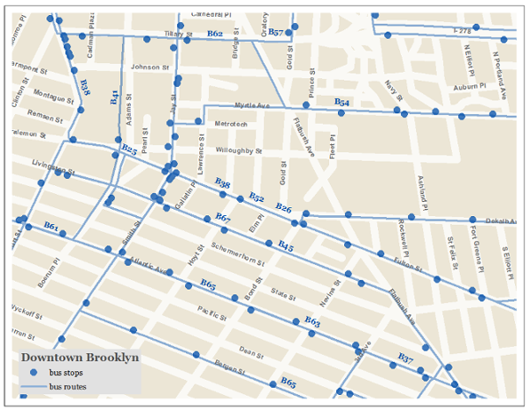 Downtown Brooklyn Bus Routes