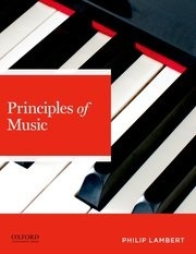 Book jacket for Principles of Music