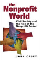 Book jacket for The Nonprofit World