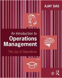 Book jacket for An Introduction to Operations Management