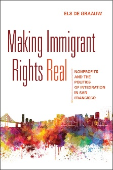 Book jacket of Making Immigrant Rights Real