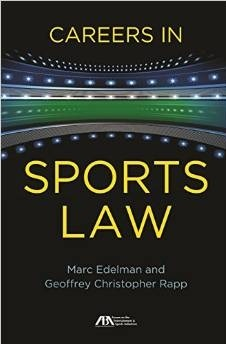 Book jacket for Careers in Sports Law