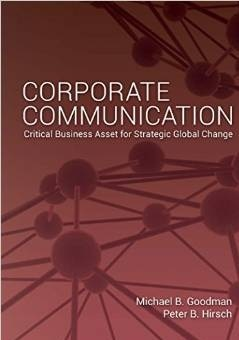 Book jacket for Corporate Communication