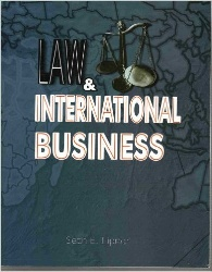 Book jacket for Law and International Business, third edition
