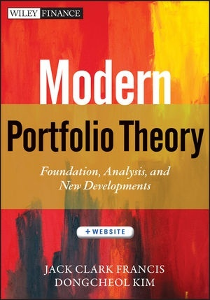 Book jacket for Modern Portfolio Theory
