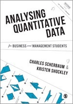 Book jacket for Analysing Quantitative Data for Business and Management Students
