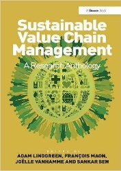 Book jacket for Sustainable Value Chain Management