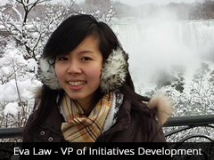 Eva, VP of Initiatives Development