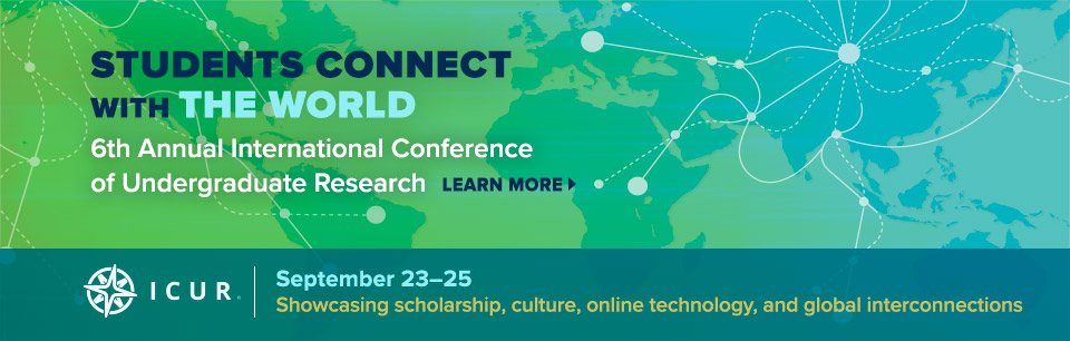 Baruch College Hosts 6th Annual International Conference of Undergraduate Research September 23-25.