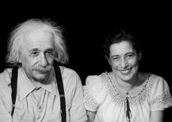 Albert Einstein and Ilse Sternberger