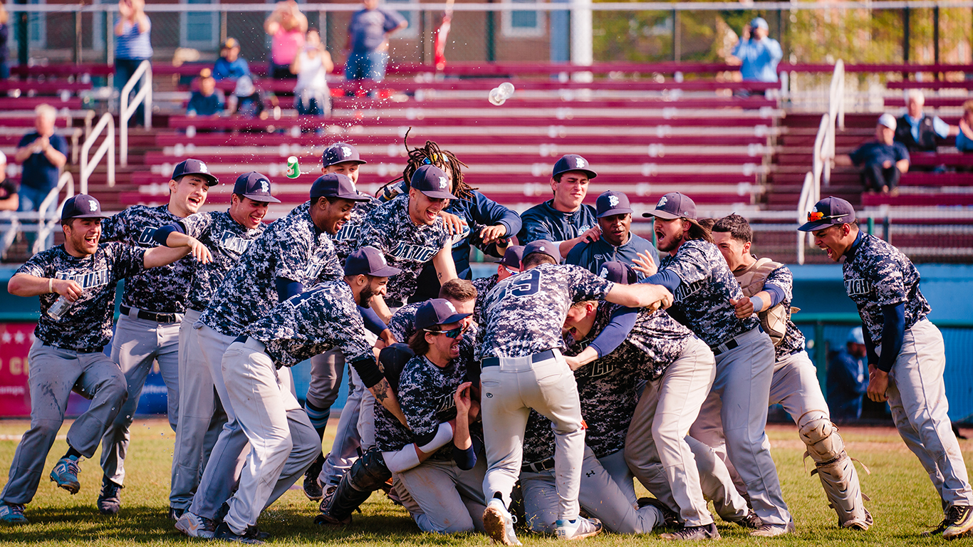 Baruch College baseball won the 2019 CUNYAC Championship