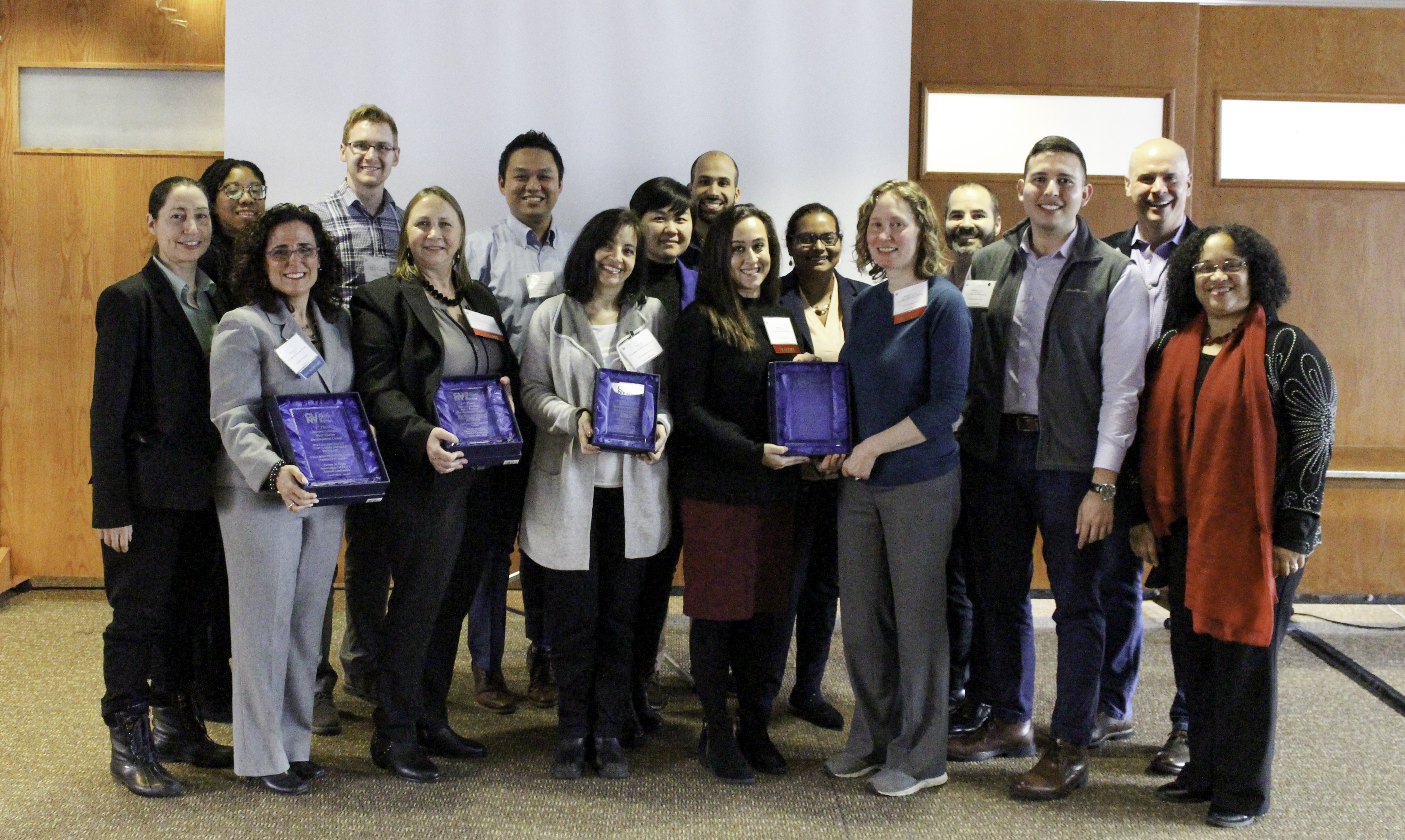 Baruch College career centers received top honors at The City University of New York's Career Services Association awards program.