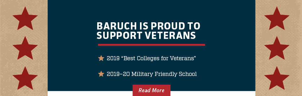 Baruch is Proud to Support Veterans