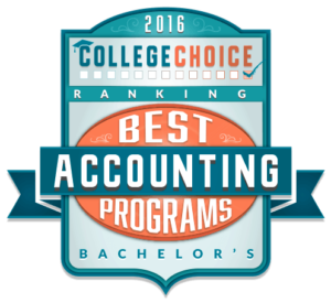College Choice Accounting Badge