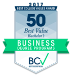 Best Value Bachelor's in Business Degree Ranking