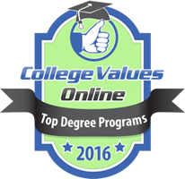 College Values Online Ranking Badge