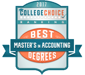 College Choice Best Master's Degree in Accounting