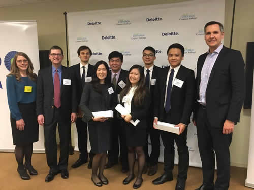 deloitte competition baruch