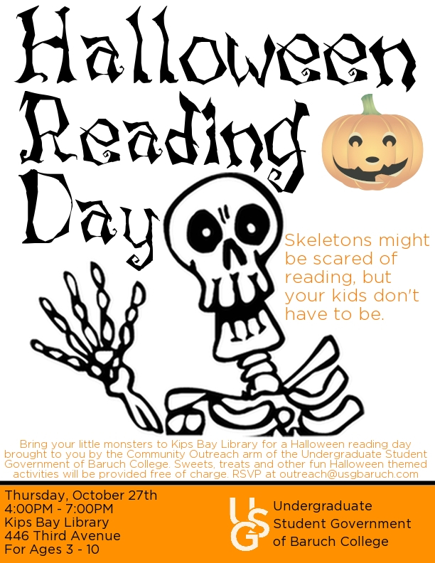 Halloween Reading Day