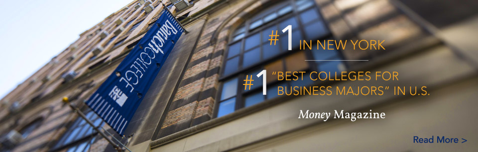 #1 in New York #1 Best Colleges for Business Majors in U.S. Money Magazine