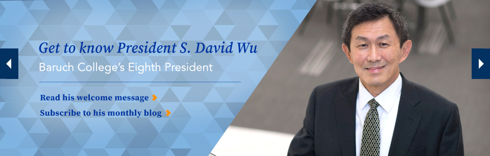 Get to Know President S. David Wu