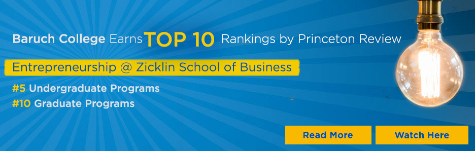 Baruch Earns Top 10 rankings