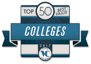 Best Value Colleges Badge