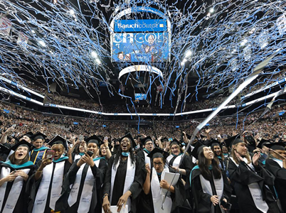 Baruch graduates at commencement