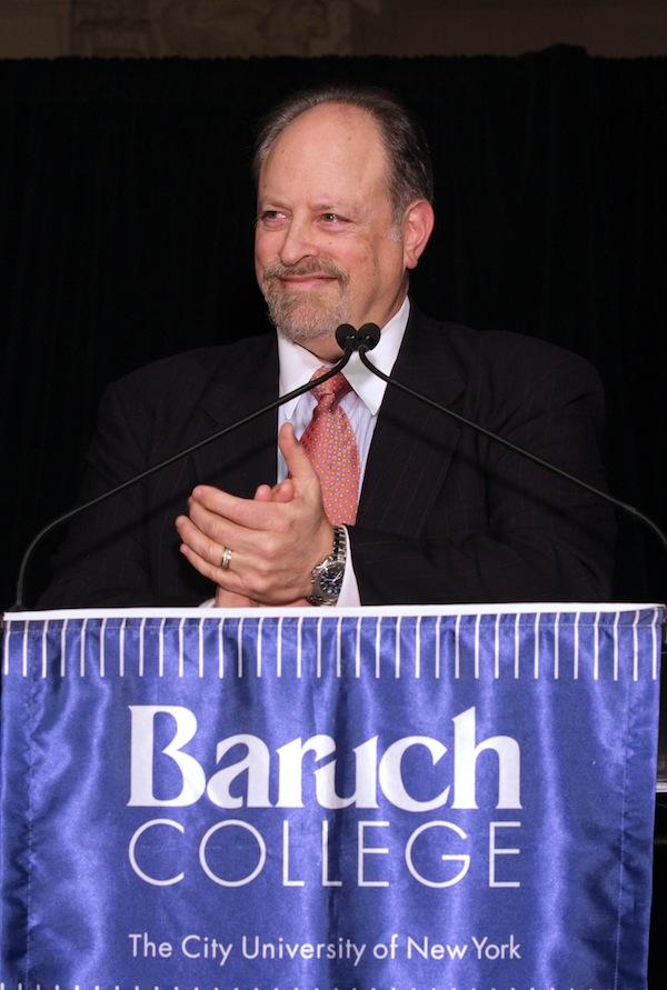 Baruch College President Mitchel B. Wallestein