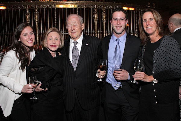 (L-R) Samantha Bernstein, Beverly Salty, William M. Newman, Matthew Bernstein, and Debbie Bernstein.
