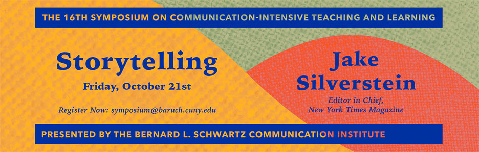 The 16th symposium on communication-intensive teaching and learning