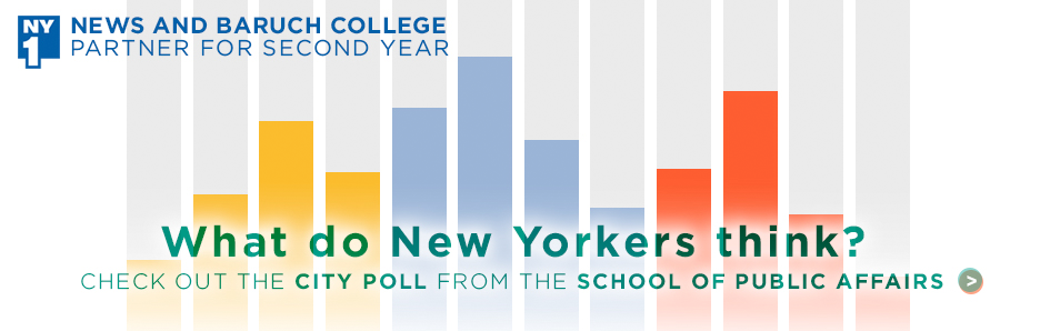 What do New Yorkers think? Check out the city poll from the school of public affairs