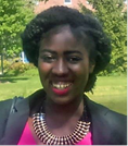 Aissata Moussa, Baruch College undergraduate student at the Marxe School of Public and International Affairs