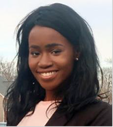 Ifueko Omorogebee, Baruch College undergraduate student at the Marxe School of Public and International Affairs