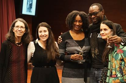 Baruch College hosted an event on December 4 to celebrate the 20th anniversary of the Sidney Harman Writer-in-Residence Program