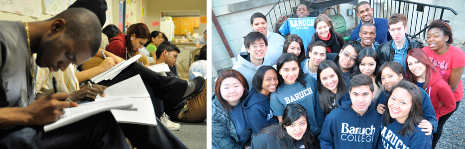 Baruch College Students Volunteer in Washington DC