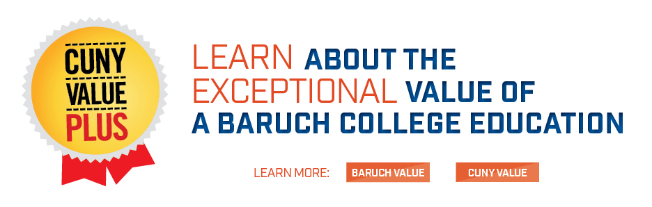 learn about the exceptional value of a baruch college education