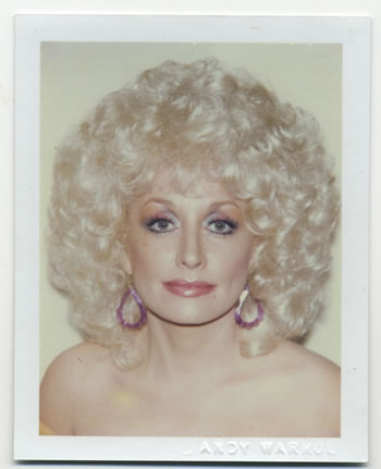 Photo - Dolly Parton Polaroid photograph by Andy Warhol