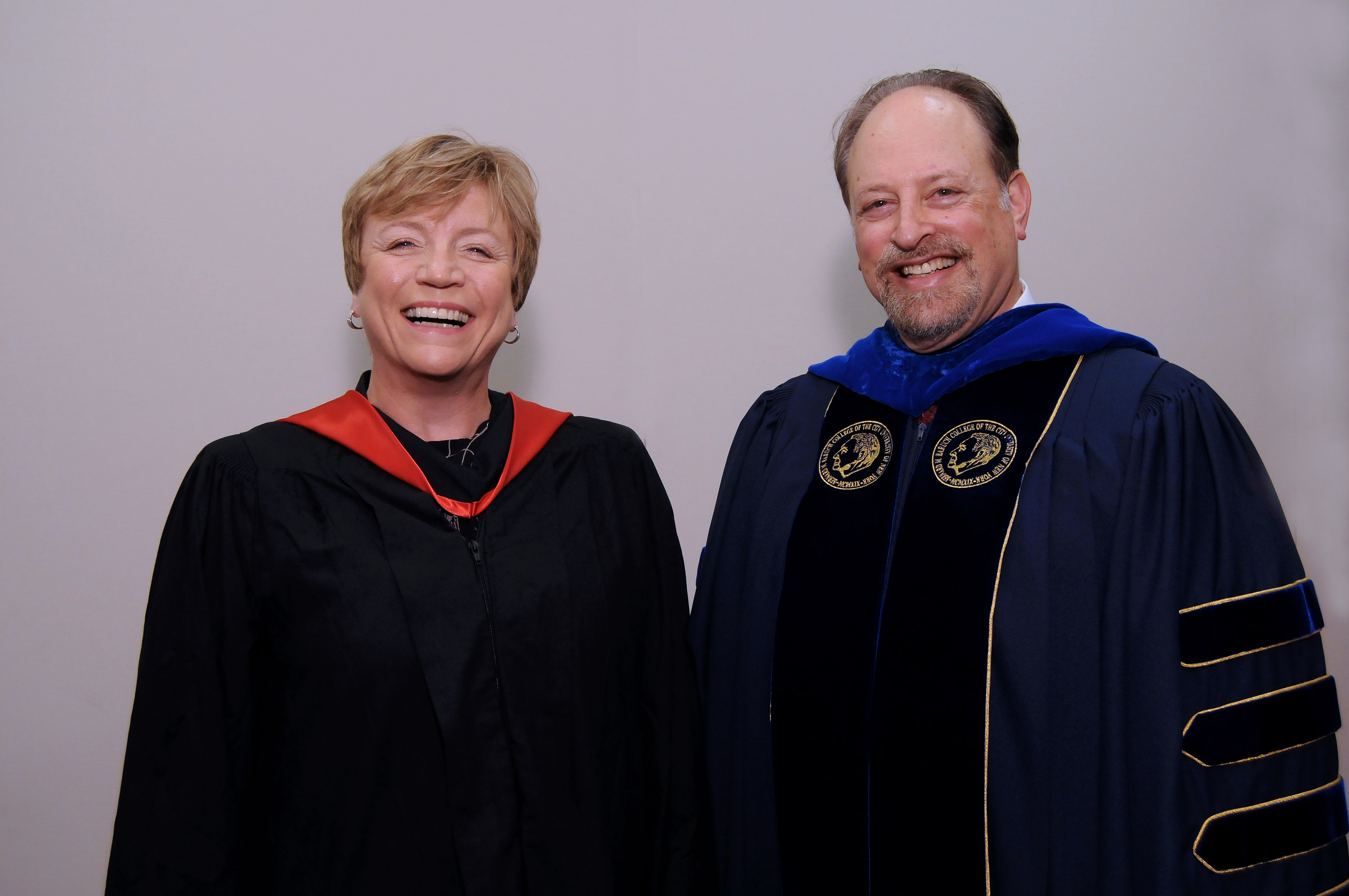 President Wallerstein and Irene Dorner