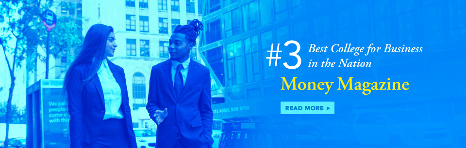 Money Magazine Ranks Baruch Number 3 for Best College for Business