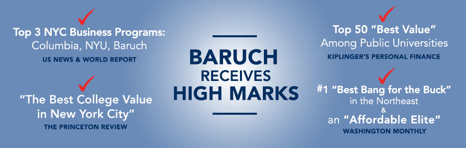 Baruch Receives High Marks