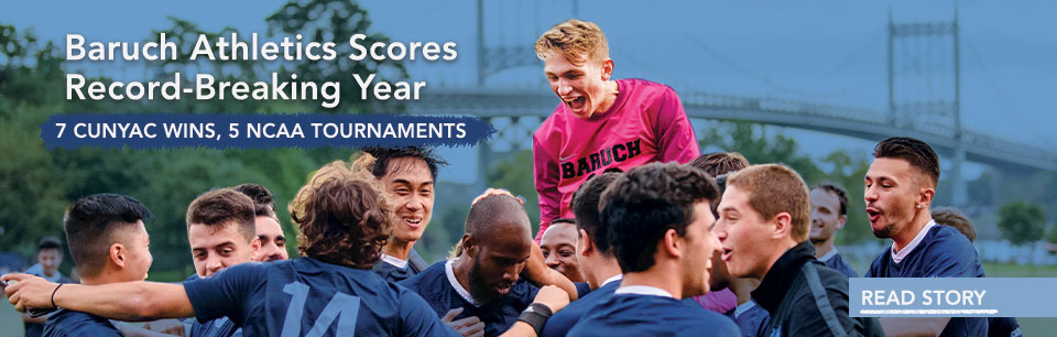 Baruch Athletics Score Record Breaking Year of Championships.