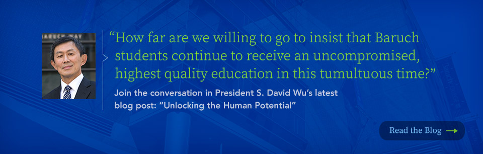 Join the conversation in President S. David Wu's latest blog post: Unlocking the Human Potential