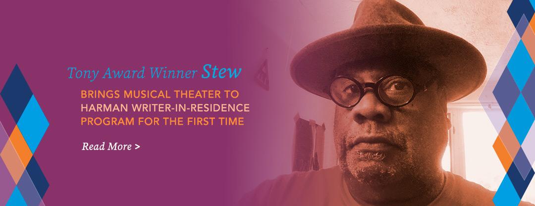 Stew Stewart Joins Harman Writer-in-Residence Program