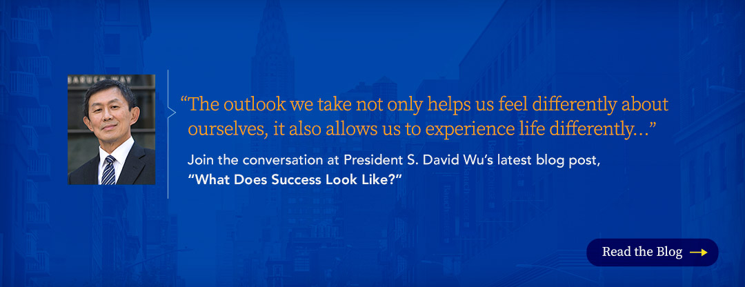 President Wu January Blog What Does Success Look Like
