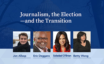 Journalism, the election, and the transition takes place on February 3, 2021.