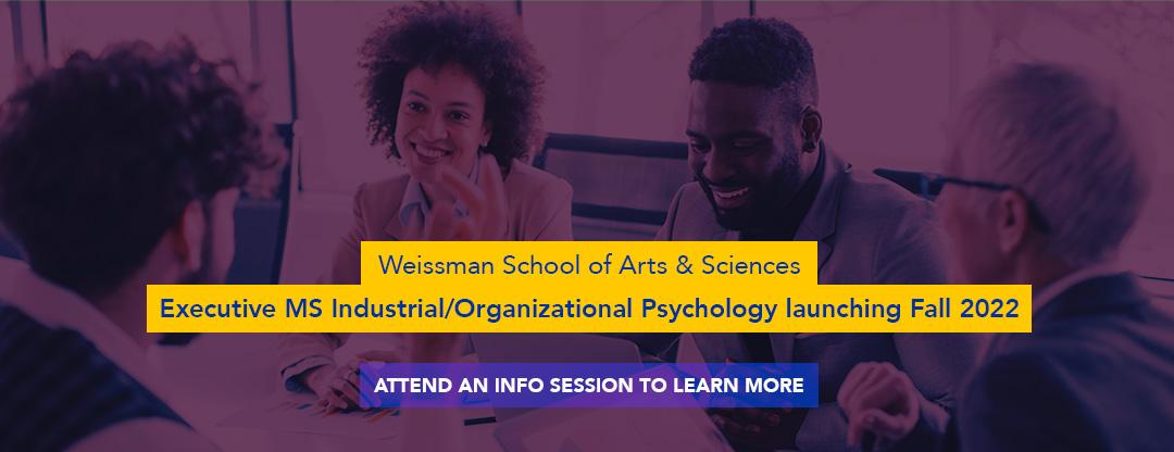 Weissman IO Psych event